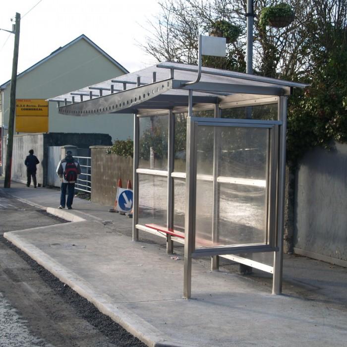 Steel Bus Shelters : Madrid shelter street furniture suppliers larkin