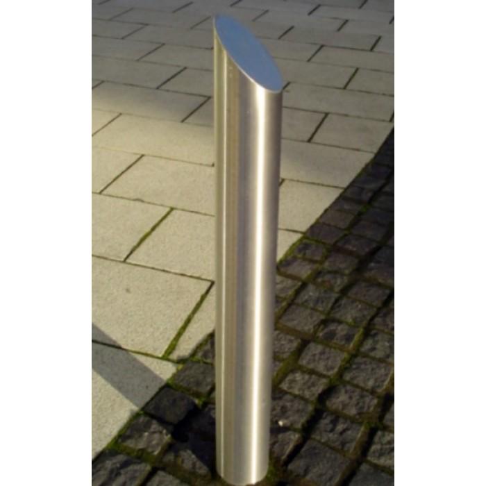 Steel Bollard- Angled | Street Furniture suppliers - Larkin