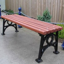 Cast Iron Bench  Benches