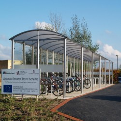 S1 Bicycle Shelter Bicycle Shelters