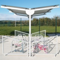 Y Cycle Shelter Street Furniture Suppliers Larkin
