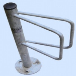 Single Ground Fixed Cycle Stand Bicycle Stands