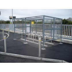 Street Furniture - Bicycle Shelters