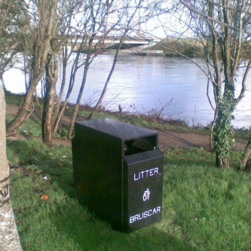 MK3 Double Litter bin Litter Bins
