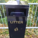 Pole Mounted Euro Litter Bins