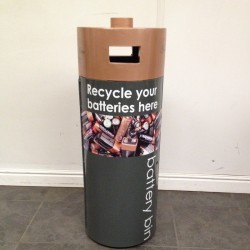 Battery Bin Litter bin Recycling Litter Bins