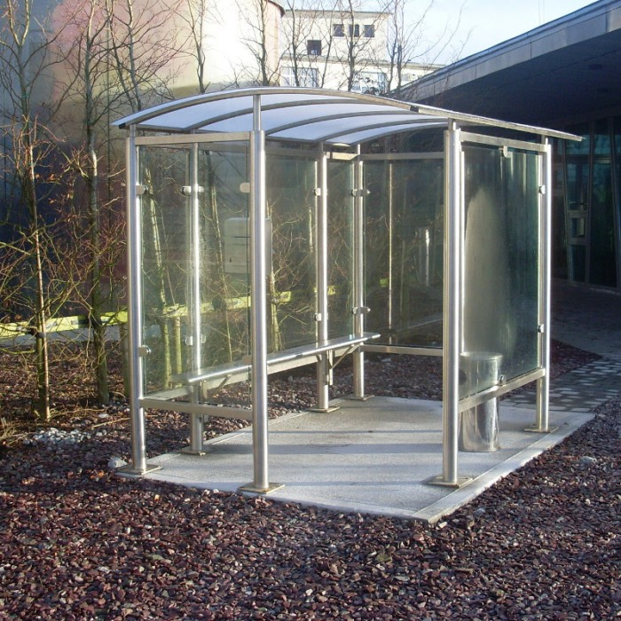 Skellig Smoking Shelter Street Furniture Suppliers