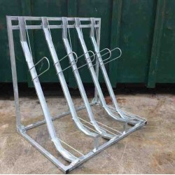 Semi Vertical Bike Rack