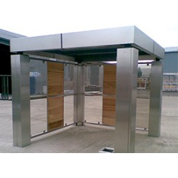 Street Furniture - Smoking Shelter